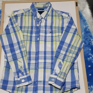 Tommy Hilfiger toddler boy  Checkered  Long sleeve